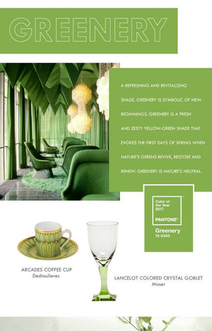 Discover the Power of Greenery -  the Pantone Color of the Year!