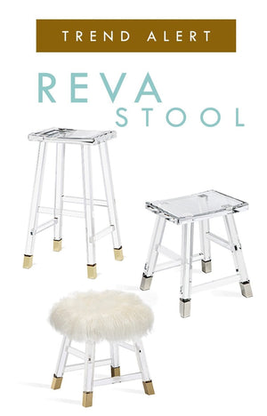 Reva Lucite Stools by Interlude Home