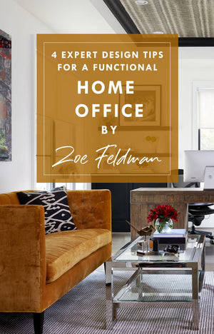 4 Expert Design  Tips for a Functional Home Office