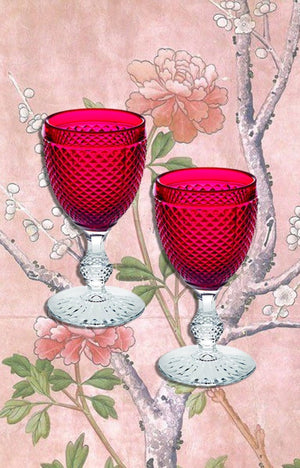 Win these Wine Glasses! Valentine's Day Contest