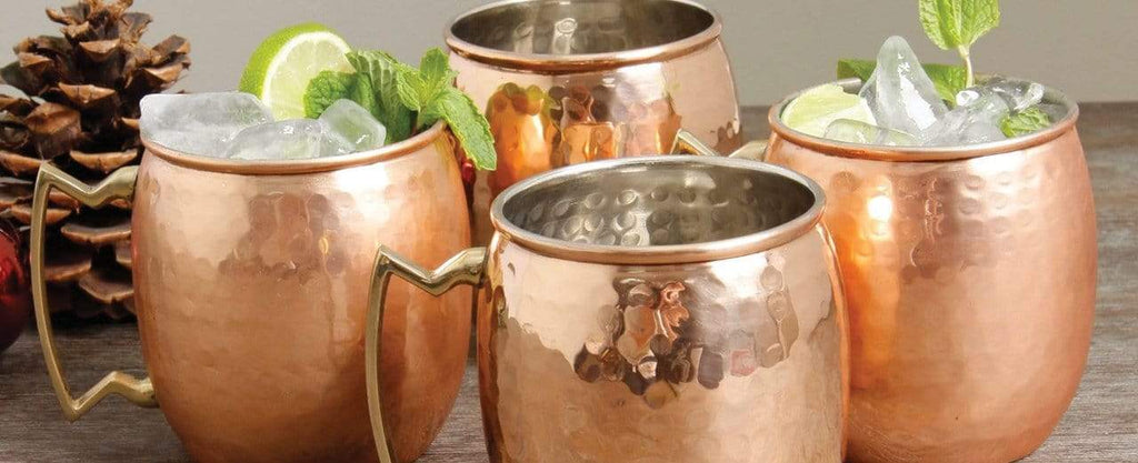 OLD DUTCH INTERNATIONAL <br> US Made Copper Mugs, Barware & Cookware