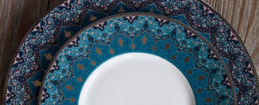 DESHOULIERES <br> Exotic Designed French Limoges Fine China