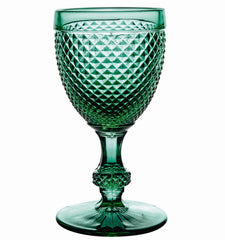 Bicos Green Wineglass Vista Alegre
