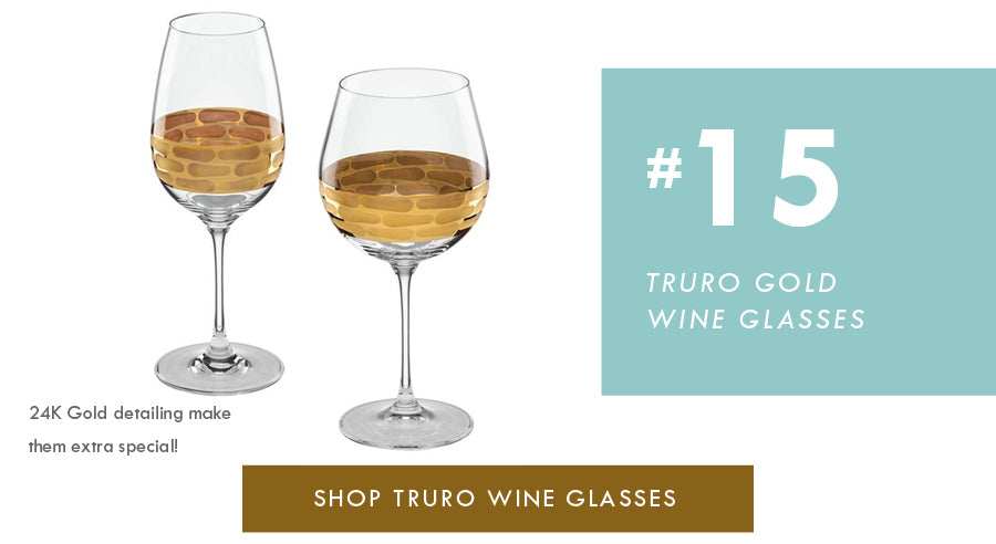 Top 18 Luxury Home Decor Trends Truro Gold Glassware
