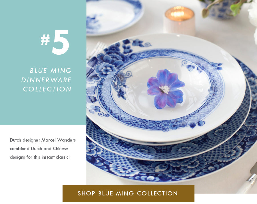 Top 18 Luxury Home Decor Trends Blue Ming Dinnerware Vista Alegre