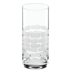 Truro frosted midcentury cocktail glass