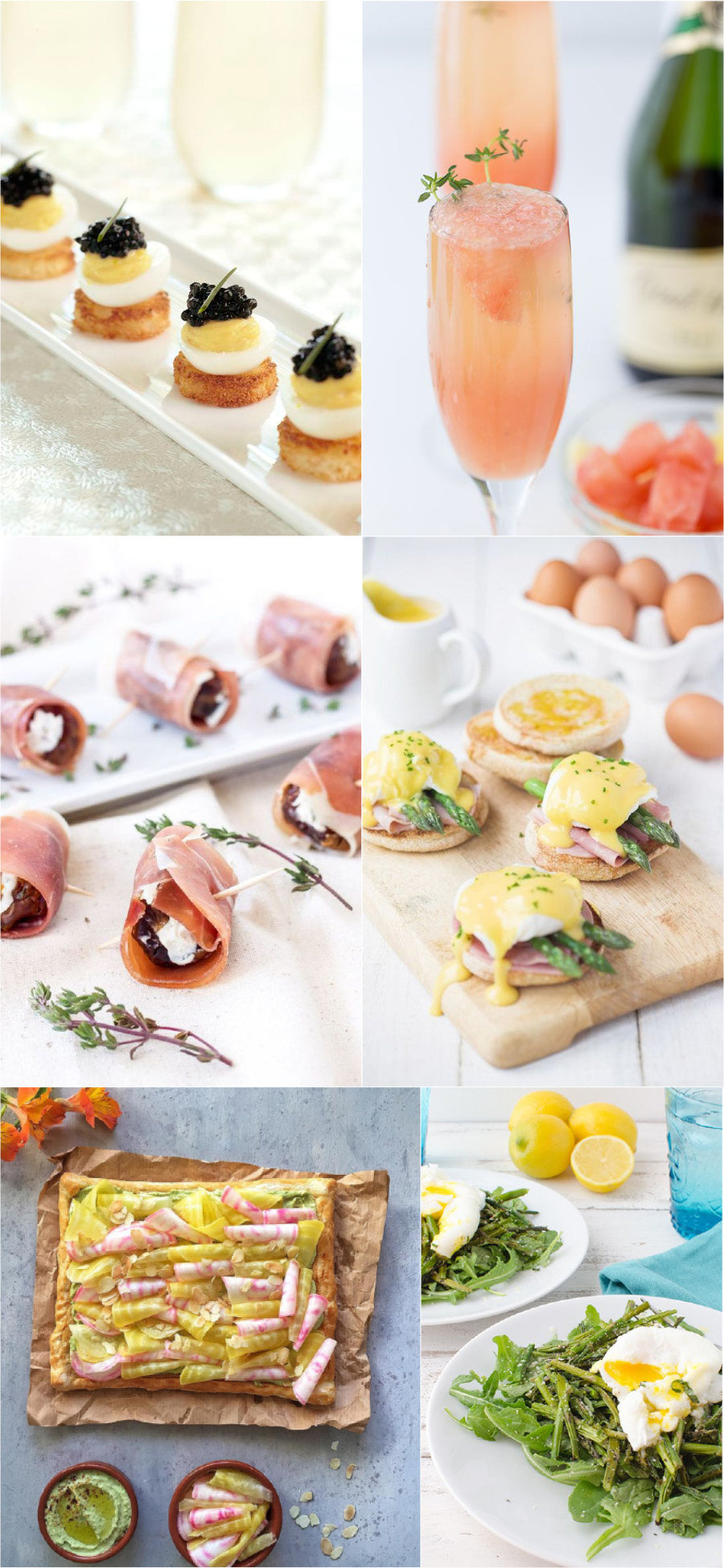 Gourmet Easter Brunch Recipes