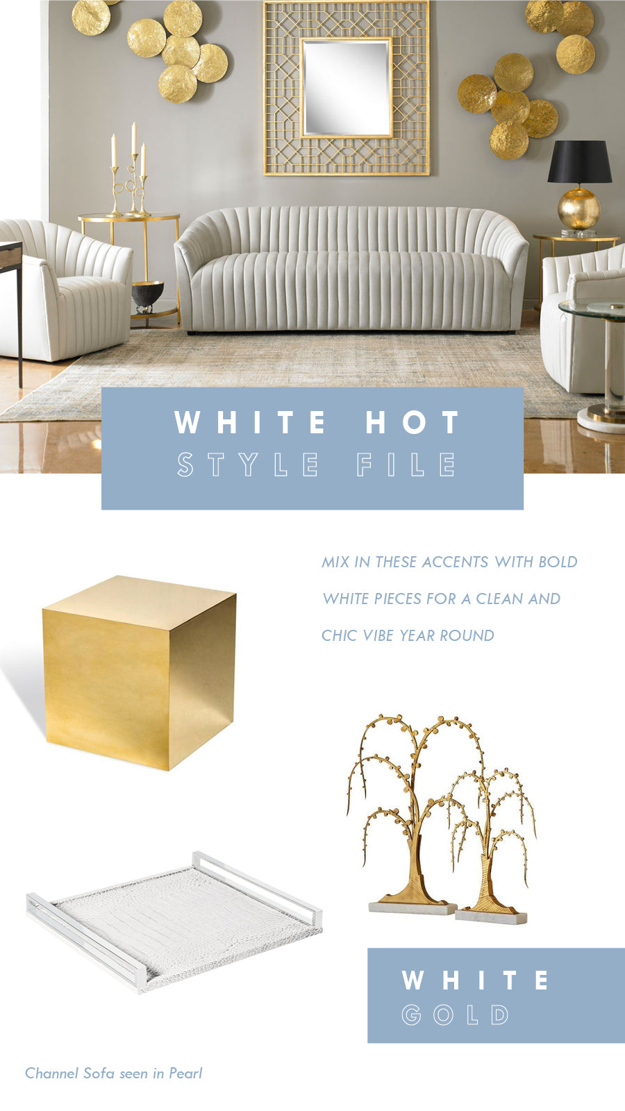White Hot Furniture Home Decor Decorating Tips