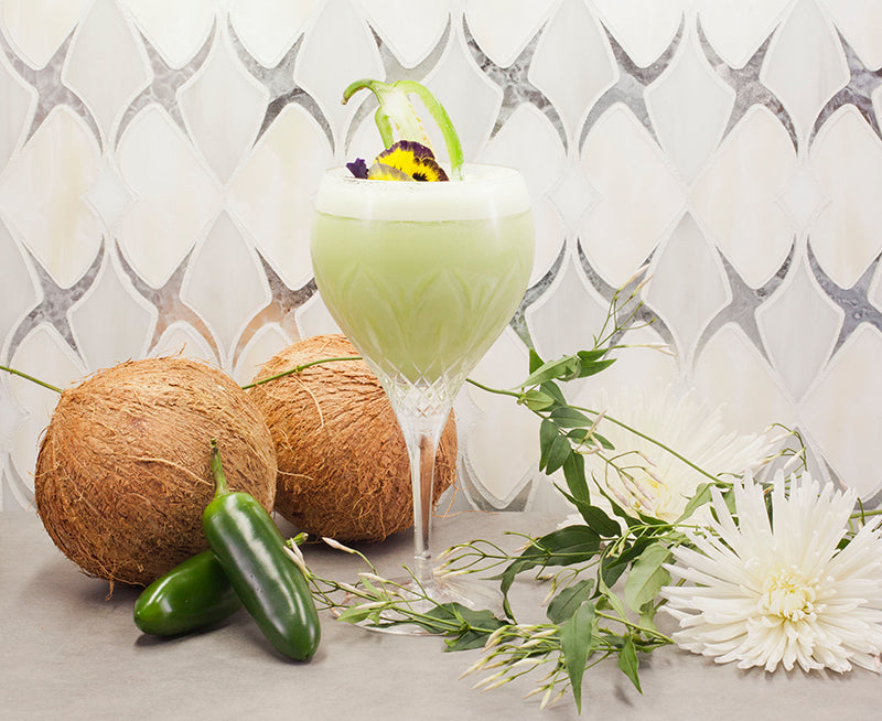 My Thai Coconut Jalepeno Cocktail