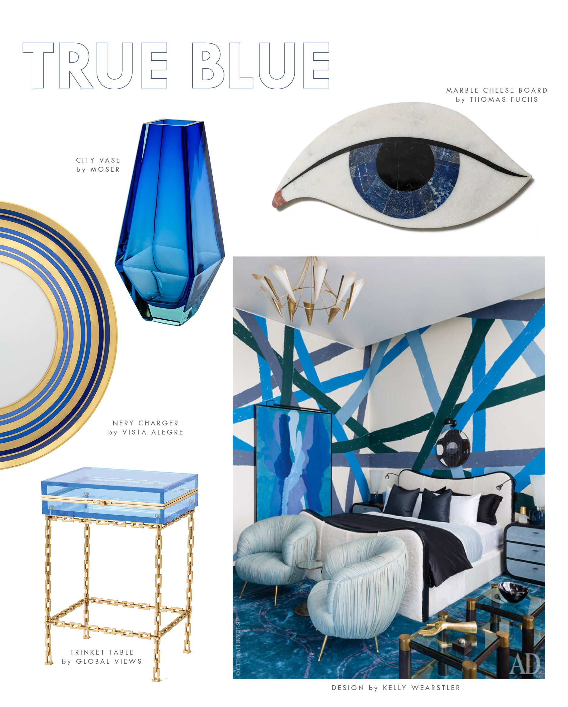 COOL BLUE:: Blue Home Decorating Ideas