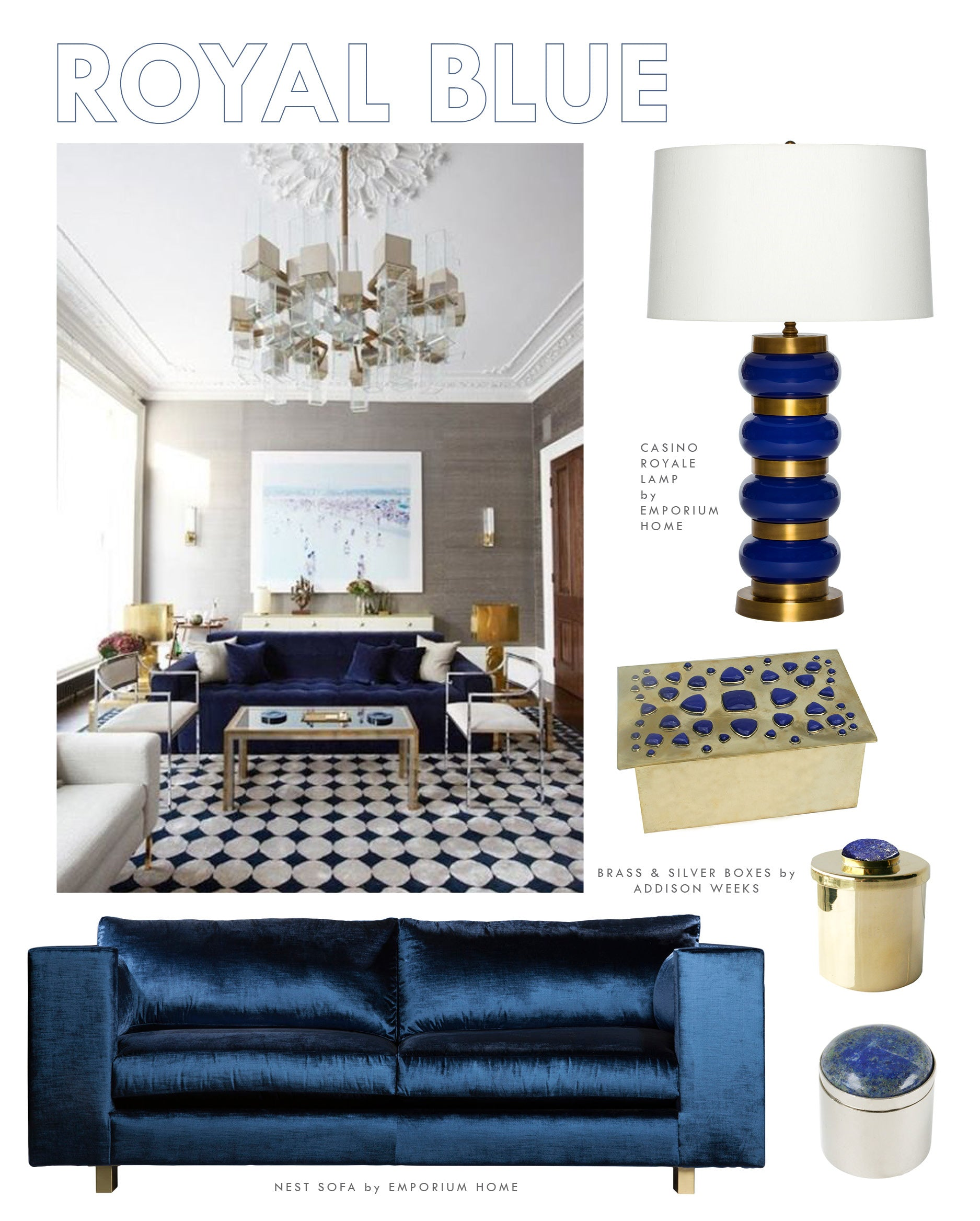 COOL BLUE Blue Home Decorating Ideas