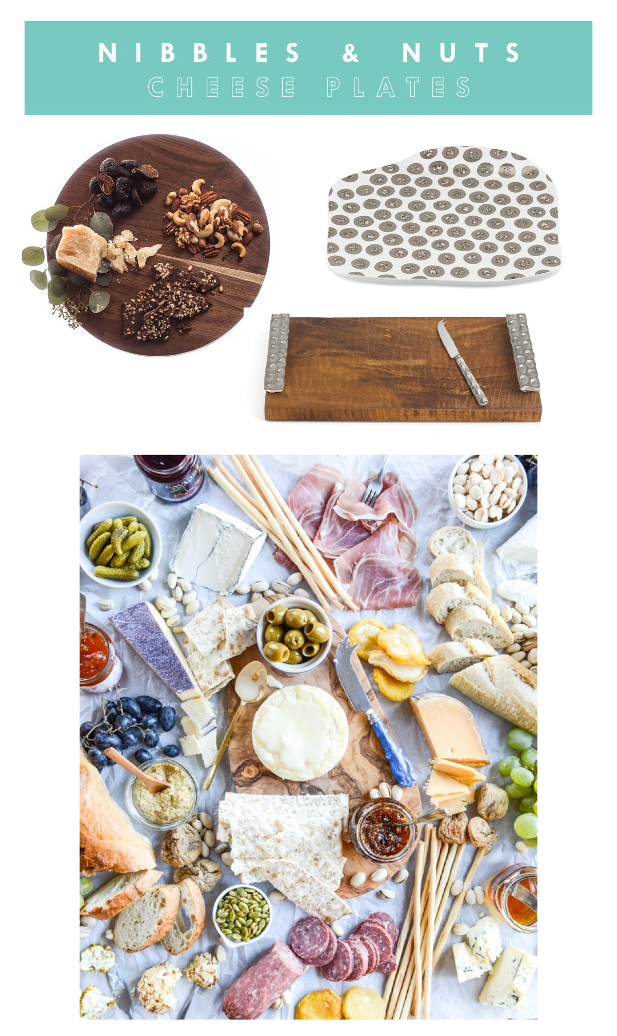 The perfect Cheese Plates
