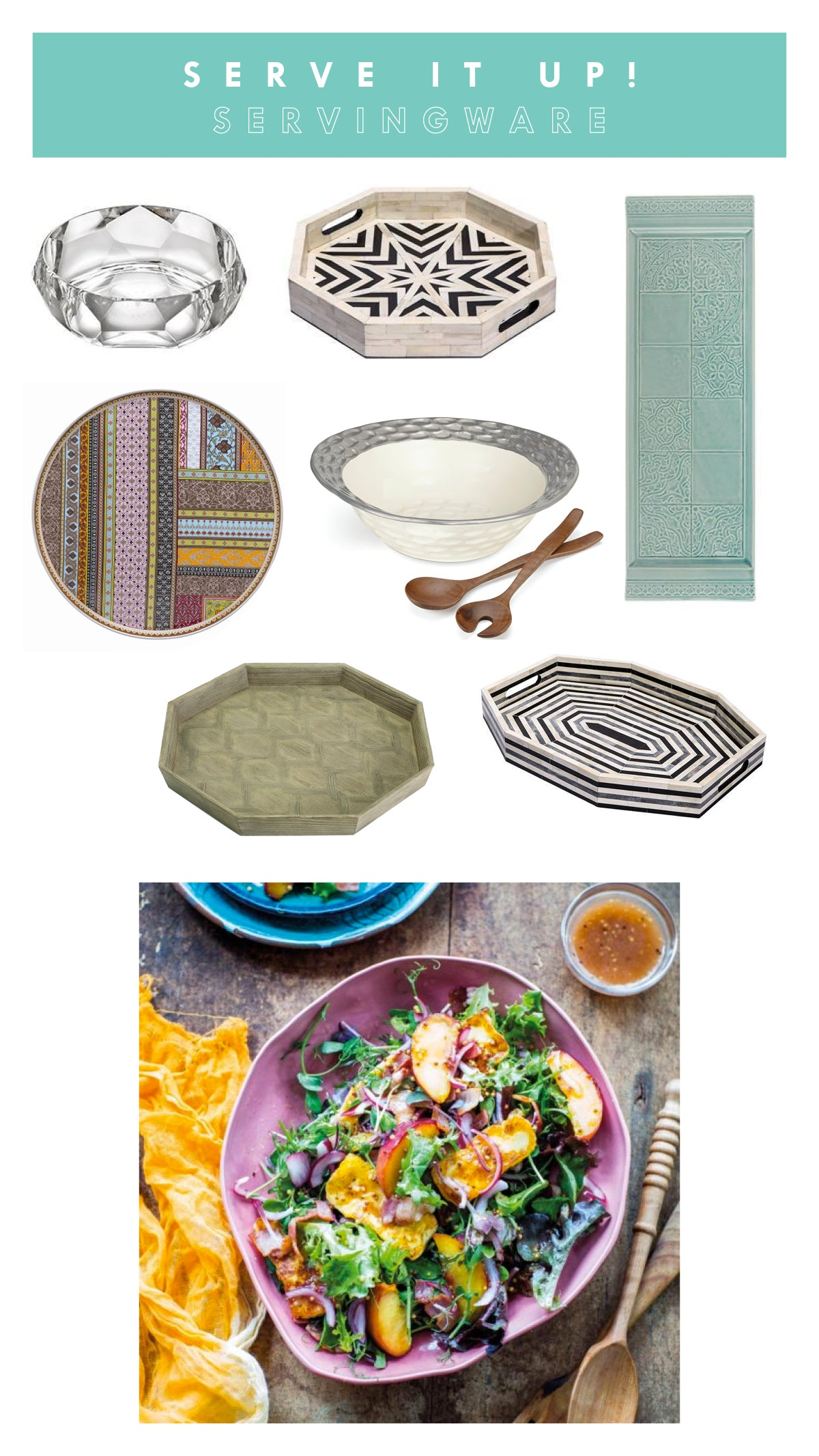 Summer Entertaining Tips Outdoor Servingware