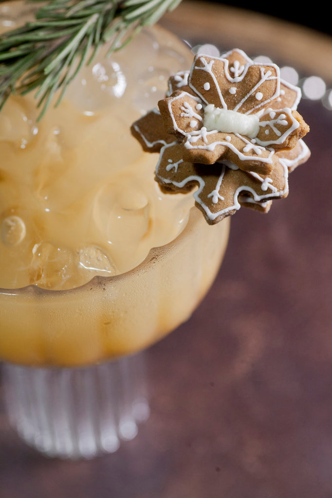 Gingerbread Martini Cocktial