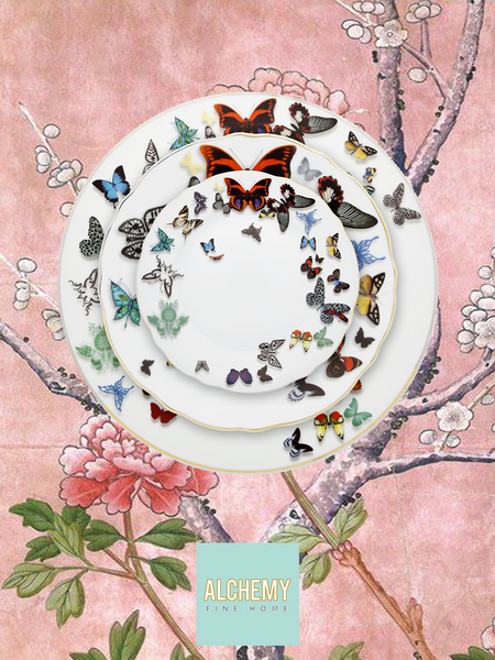 Christian Lacroix Butterfly Parade dinnerware set Alchemy Fine Home