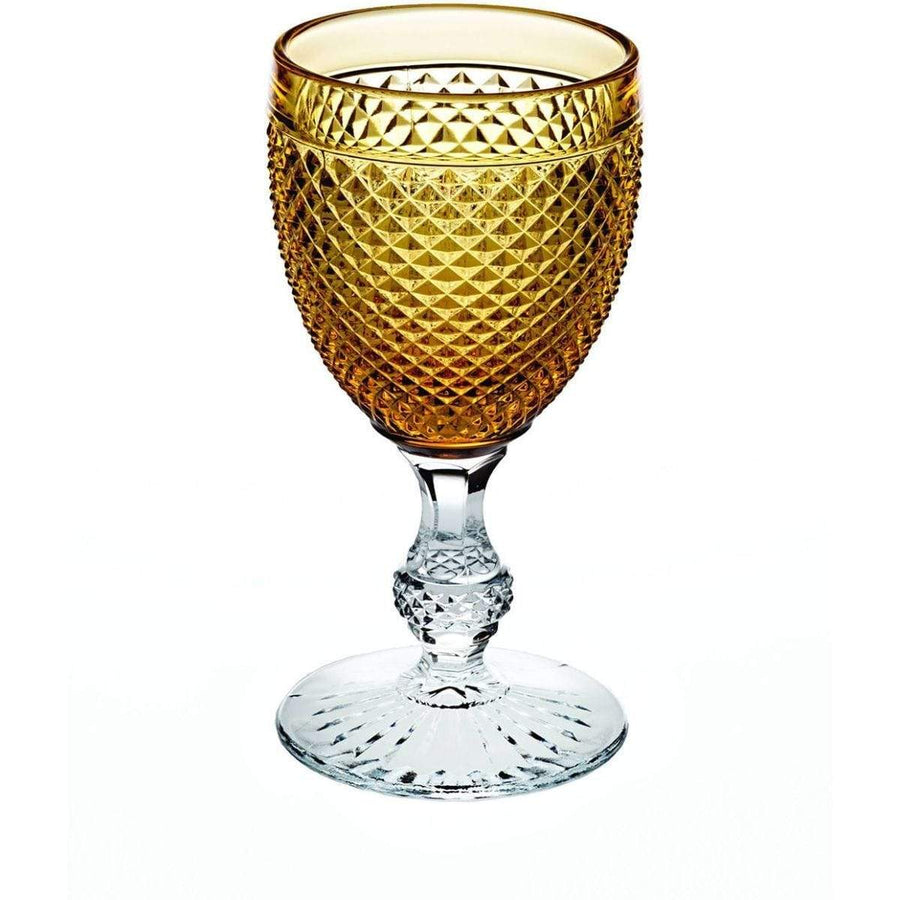 Vista Alegre Bicos Bicolor Goblet with Amber Top 49000431