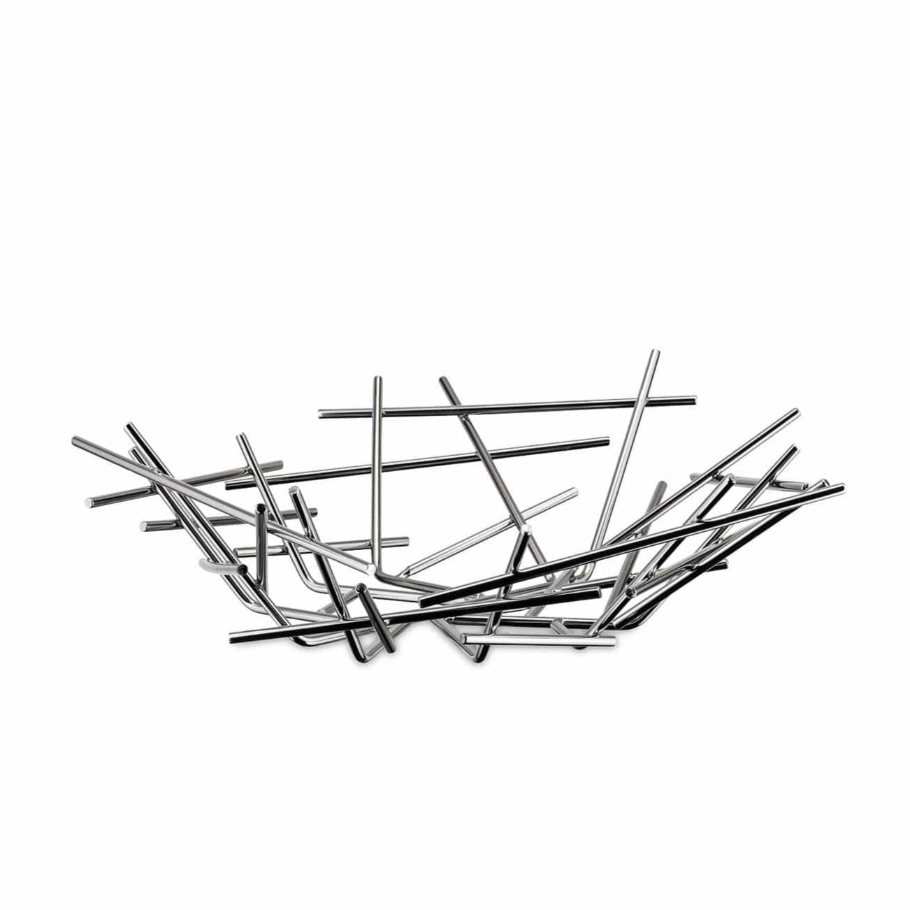 Alessi Alessi Blow Up Basket - Silver FC02