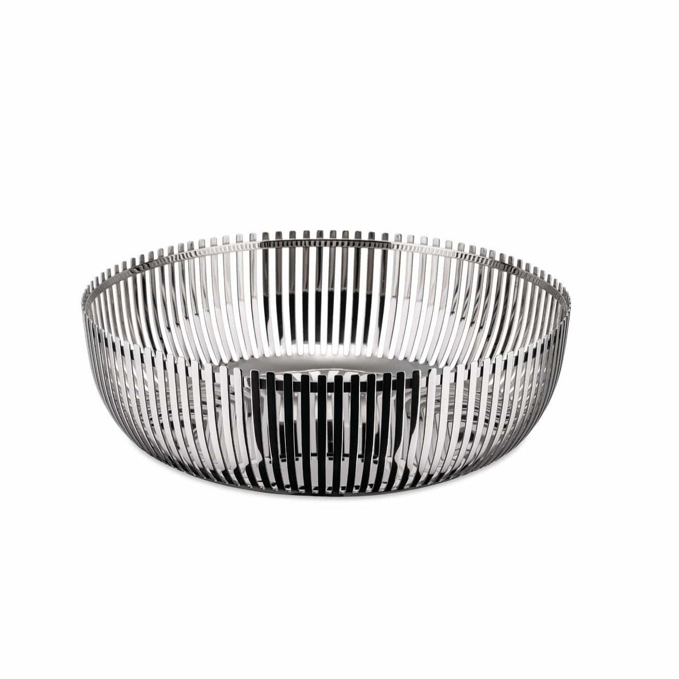 Alessi Alessi Round Basket - large - Silver PCH02/23