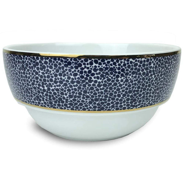 Michael Wainwright Panthera Indigo Dinner Bowl 03PA57