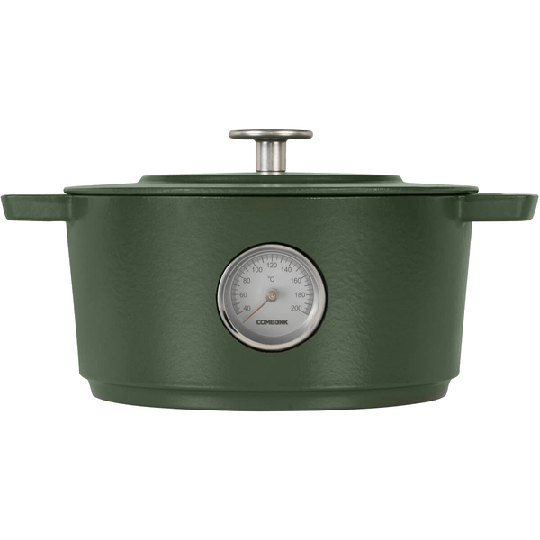 Combekk Combekk Dutch Oven Thermometer Green - 24 cm 100124GR