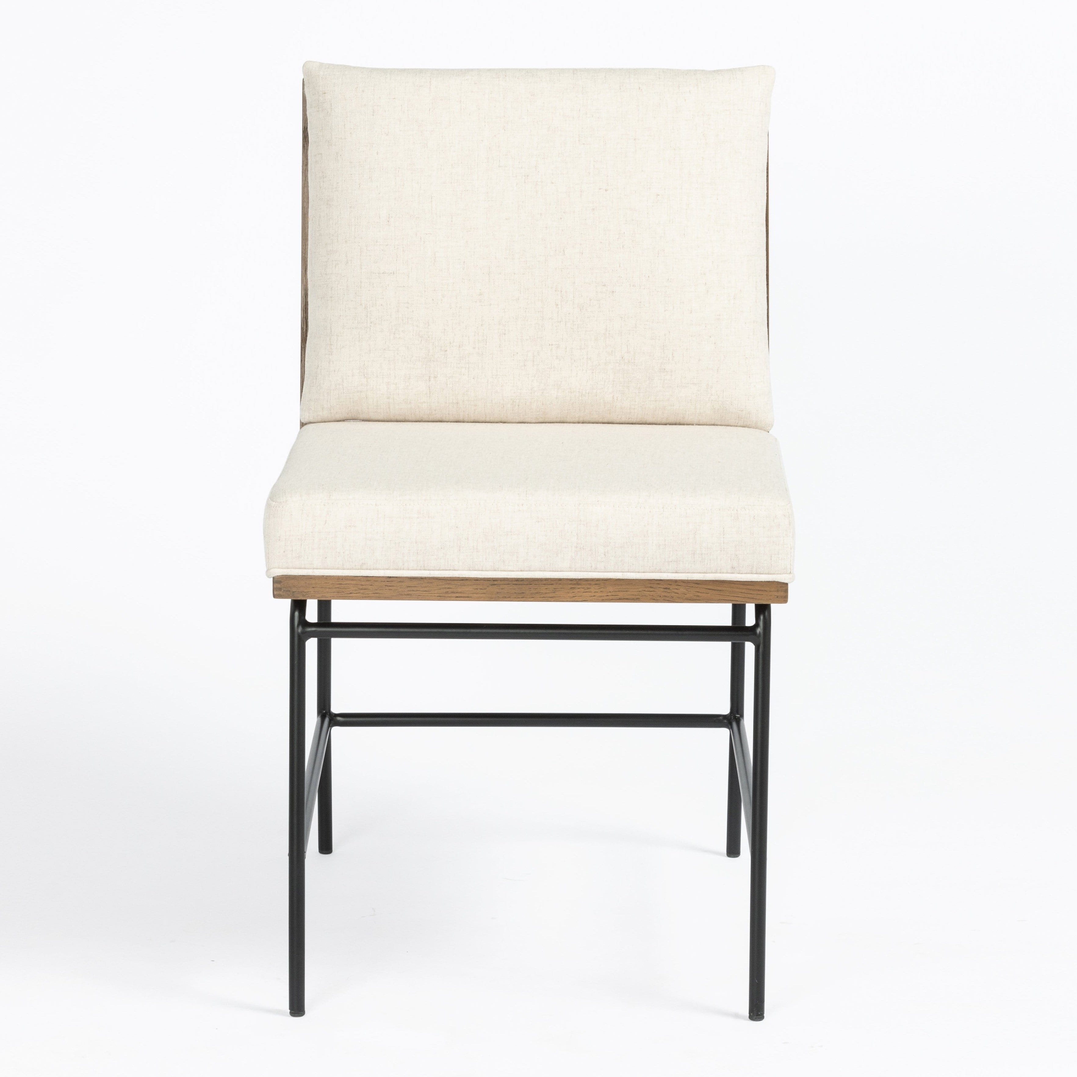 Four Hands Crete Dining Chair - Ivory