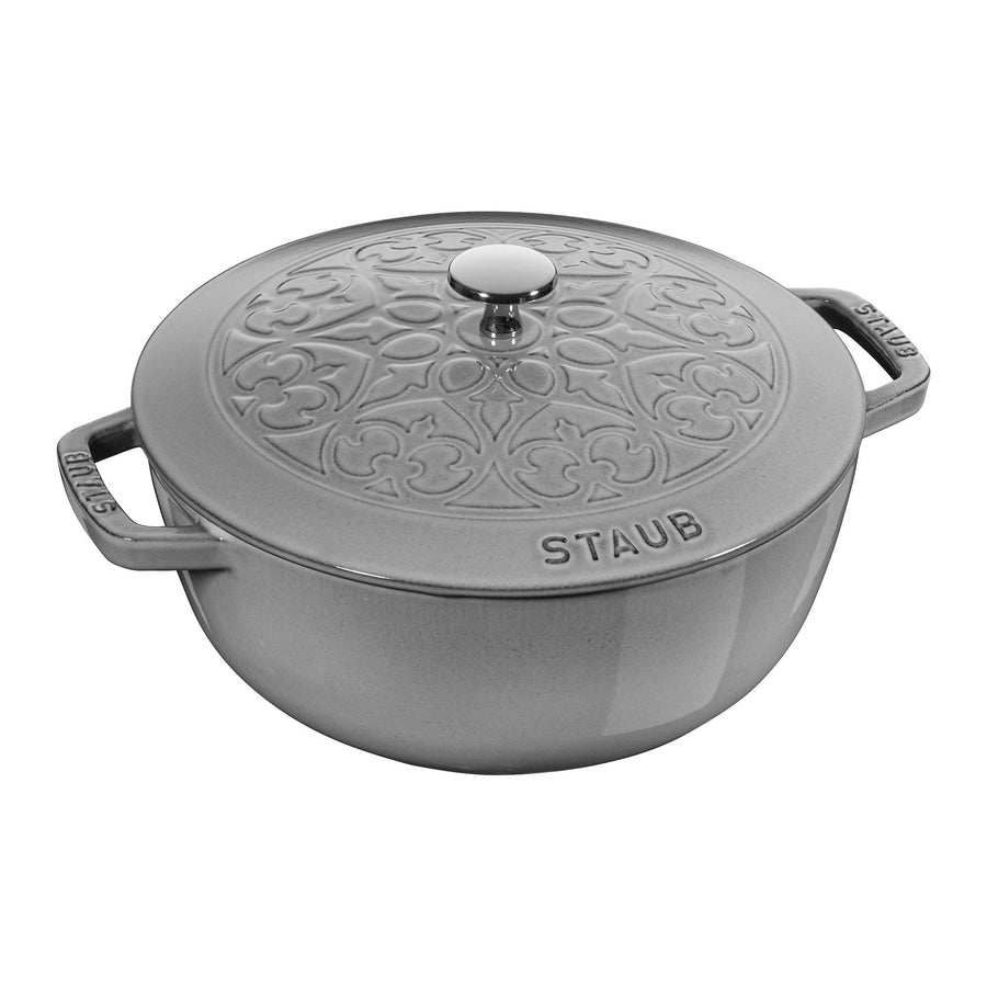 STAUB 3.75-qt Essential French Oven Lilly Lid | Alchemy Fine Home