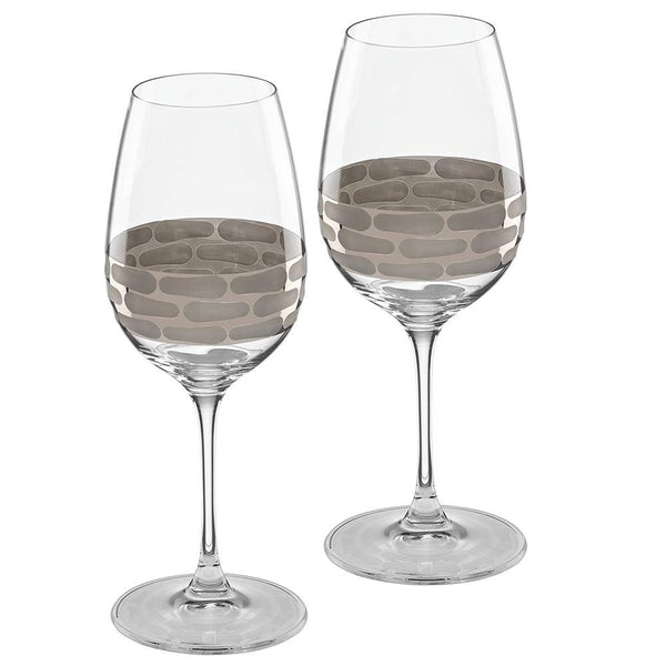 Michael Wainwright Truro Platinum White Wine - Set of 2 116TR31