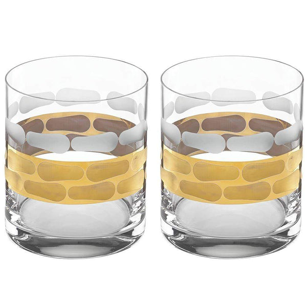 Michael Wainwright Truro Gold Double Old Fashioned - Set of 2 117TR32