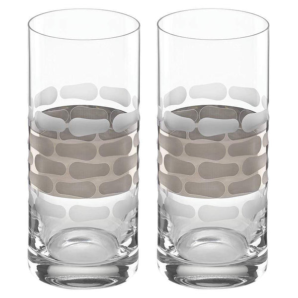Truro Platinum Highball - Set Of 2