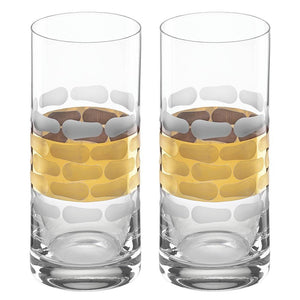 Michael Wainwright Truro Gold Highball - Set of 2 118TR32