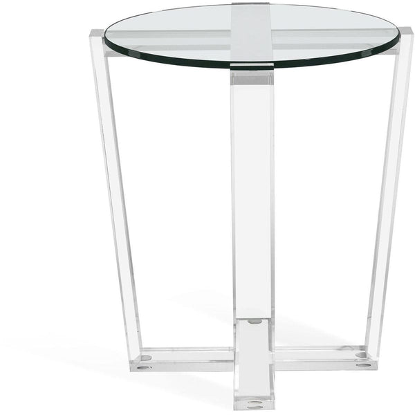 Interlude Home Interlude Home Jean Side Table - Clear 128161