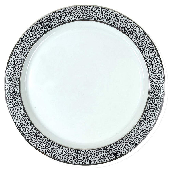 Michael Wainwright Panthera Platinum Salad Plate