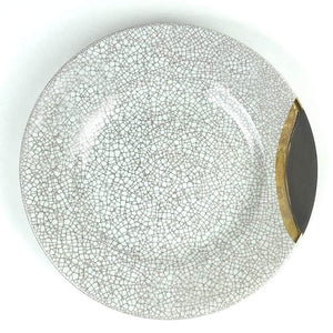 Michael Wainwright Michael Wainwright Raku Gold Salad Plate 13RA58