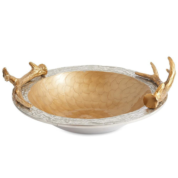 "Antler 15"" Bowl in Toffee"