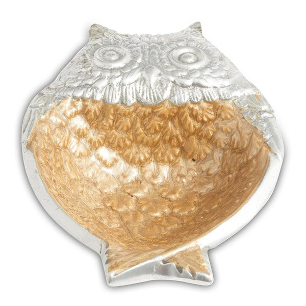 "Julia Knight Owl 6"" Bowl in Toffee"
