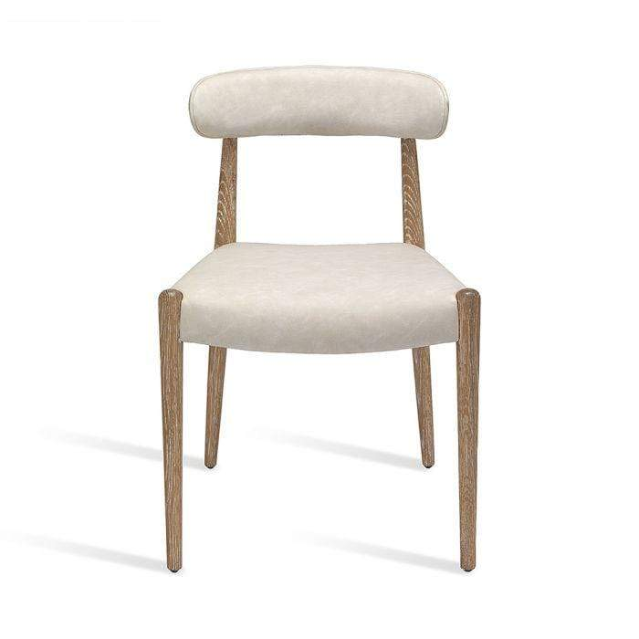 Interlude Home Adeline Dining Chair - Set of 2 - Whitewash