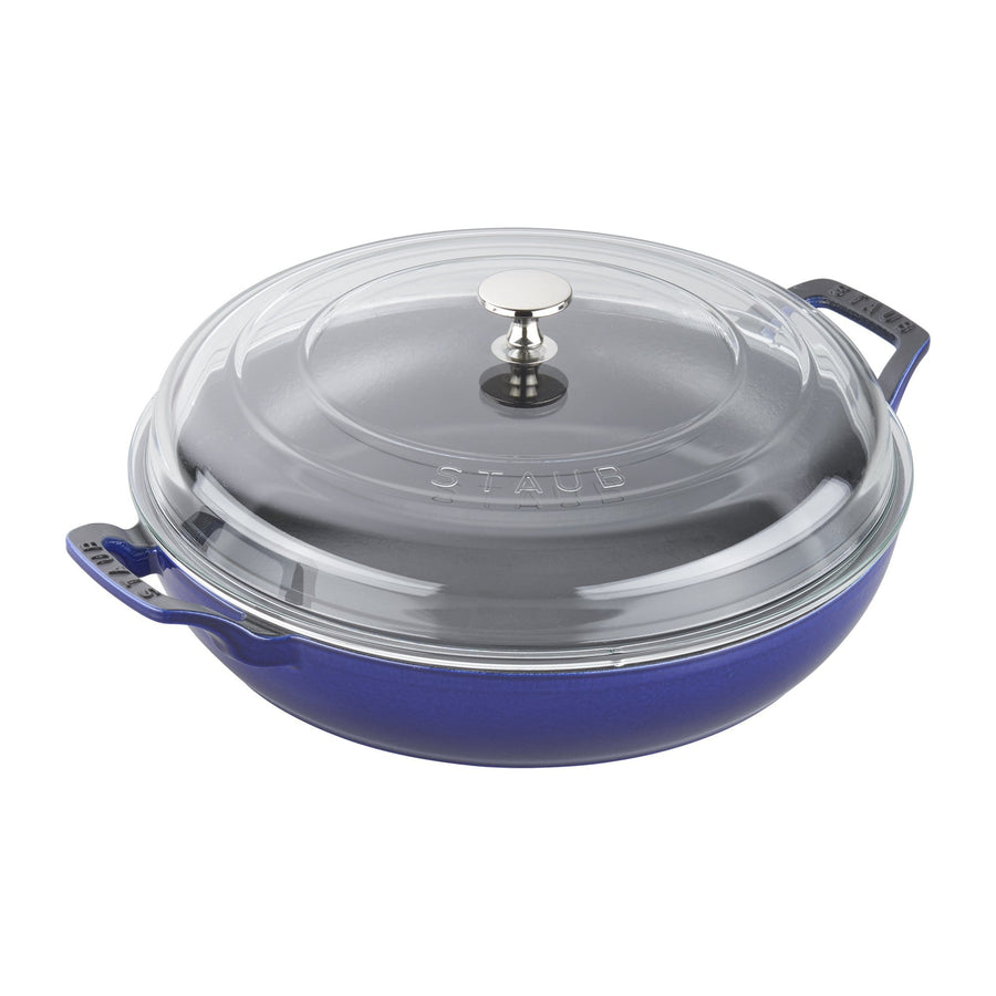 STAUB 3.5-qt Braiser with Glass Lid | Alchemy Fine Home