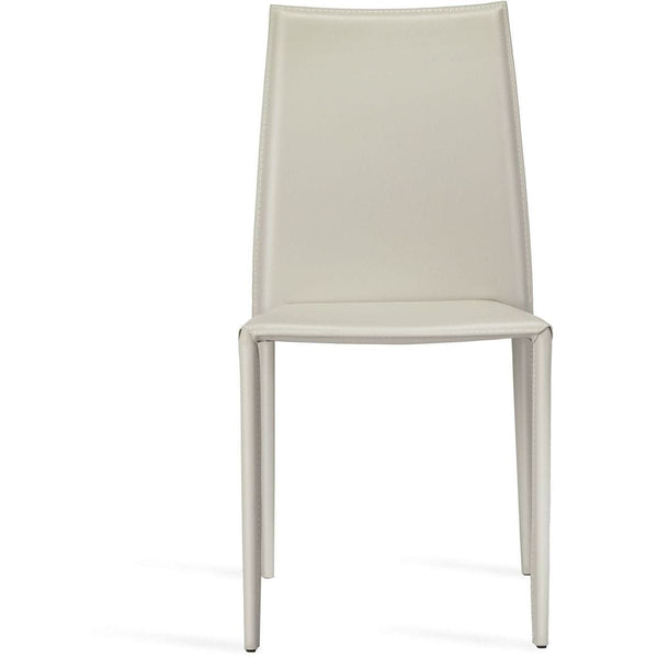 Interlude Home Van Set of 4 Stacking Chairs - Storm Grey