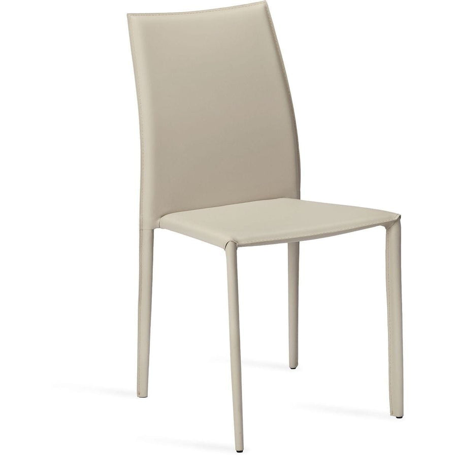 Interlude Home Van Set of 4 Stacking Chairs - Mediterranean Sand