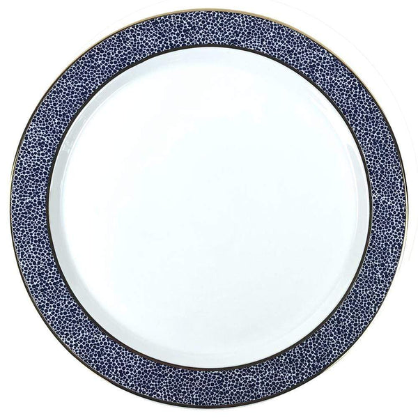 Michael Wainwright Panthera Indigo Dinner Plate