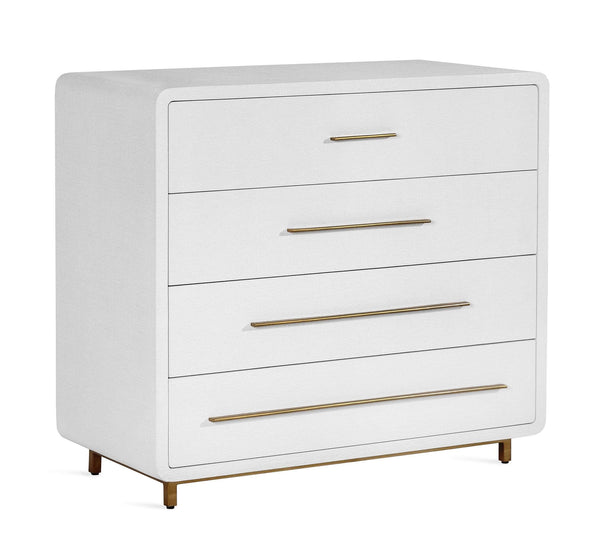 Interlude Home Alma Chest in White 188096