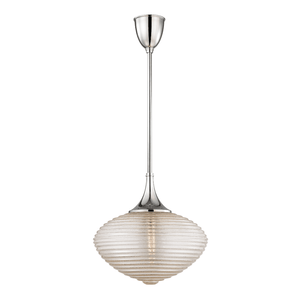 Hudson Valley Lighting Hudson Valley Lighting Knox Pendant - Polished Nickel & Clear 1926-PN