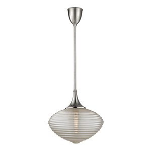 Hudson Valley Lighting Hudson Valley Lighting Knox Pendant - Satin Nickel & Clear 1926-SN