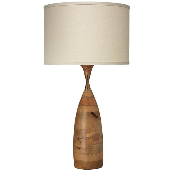 Jamie Young Amphora Table Lamp in Natural Wood