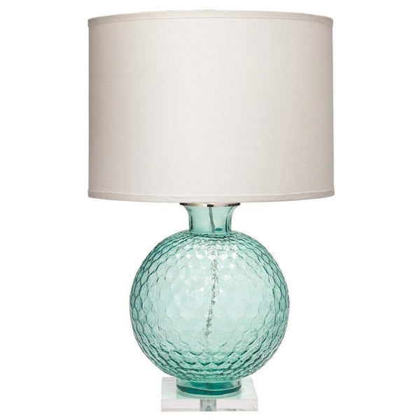 Jamie Young Clark Table Lamp in Aqua