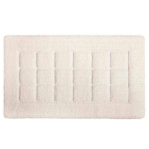 "Graccioza Graccioza Heaven Bath Rug - White - Available in 3 Sizes 20"" x 31"" 311475120003"