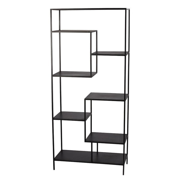 Jamie Young Element Etagere in Black Iron
