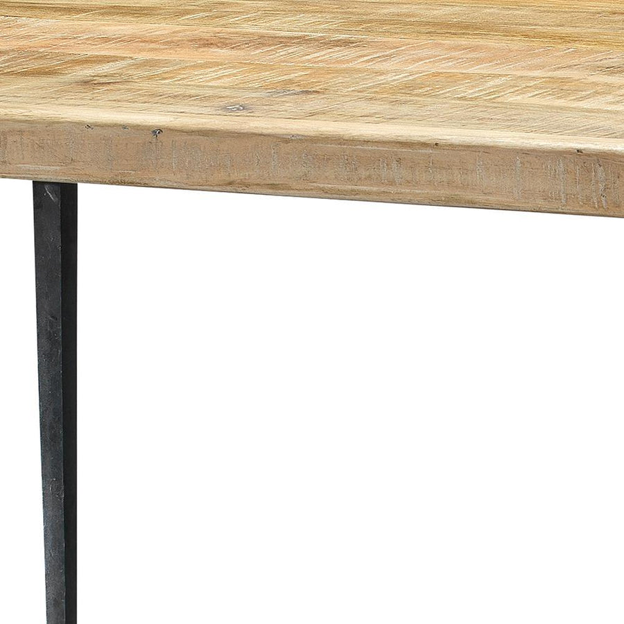 Jamie Young Farmhouse Dining Table in Natural Wood