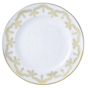 Paseo Biscuit Porcelain Bread and Butter Plate