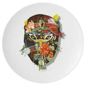 Love Who You Want Mister Tiger Dessert Plate by Christian Lacroix